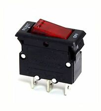 2pc Circuit Breaker M1 Reset(On)-Off 3P 15A 125VAC UL JOEMEX ( Rocker Switch )