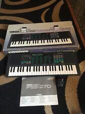 Yamaha Portasound Pss 270 keyboard - Fully Functional