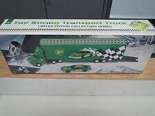 BP 1995 RACE CAR TRANSPORTER TRUCK AND RACE CAR #5