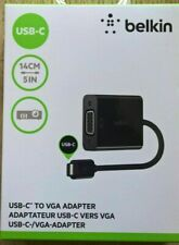 BELKIN F2CU037btBLK USB-C to VGA Adapter - Black