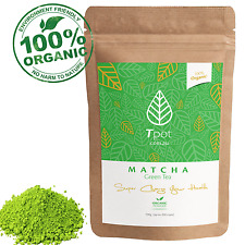 Matcha Green Tea Powder - ORGANIC Japanese - Latte - Up to 200 Serves