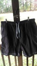 Brown swim shorts men size 1XB waist is 40 Roundtree & Yorke