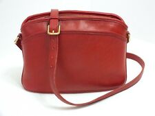 Vintage Coach Anderson Crossbody/Shoulder Bag Red Leather #9976 Made in USA