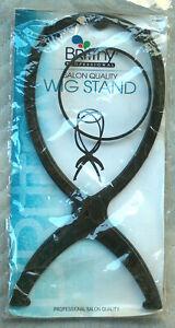 New Brittny Professional 4 Position 3-Piece Plastic Salon Quality Wig Stand NIP