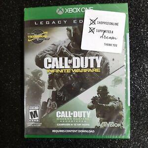 Xbox One Call of Duty Infinite Warfare Legacy Edition Modern Warfare Remastered