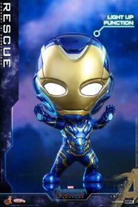 Hot Toys COSB569 COSBABY Avengers Endgame Iron Man Bobble-Head Mini Doll Toys