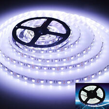 12Volt 5M 3528 Flexible Waterproof SMD LED Strip Light Strip Light Connector UK
