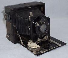 Ihagee Zweiverschluss Duplex 9x12cm Folding Plate Camera w/ Unusual Back