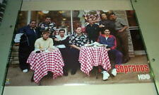 THE SOPRANOS Cast Vintage POSTER!