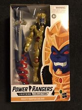 New listing Mighty Morphin Power Rangers Hasbro Lightning Collection Goldar Action Figure