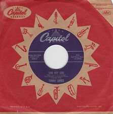 """Tommy Sands """"Sing Boy Sing"""" & """"Crazy 'Cause I Love You"""" 1958 Teen Idol NM Cond."""