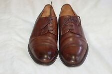 Bruno Magli Brown Leather Oxford Lace Up Shoes Size 9 M
