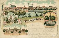 Ansichtskarte Ingolstadt 1900 Pionierkasserne Tilli Total