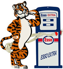 ESSO Tiger Motor Oil Laser Cut Out Reproduction 22x24