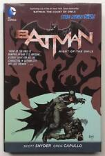 Batman Night Of The Owls Hardcover Book. 1st prints (DC New 52 2012) High grade