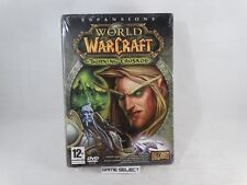 WORLD OF WARCRAFT THE BURNING CRUSADE ESPANSIONE DVD PC COMPUTER NUOVO SIGILLATO
