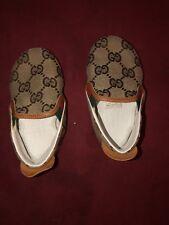 Gucci Baby GG Crib Shoes