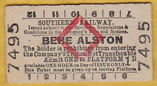 SR Collectable British Rail (1948-1997) Tickets