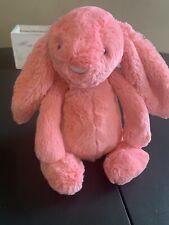 Jellycat London Bashful Small Sorbet Pink Stuffed Bunny Rabbit Plush Retired