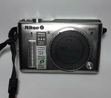 Nikon 1 AW1 Silver Water Proof Shock Proof Digital Camera Parts + Battery