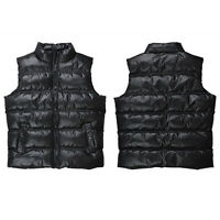NEW MEN'S AUTHENTIC ACCESS PLAN PUFFER PUFFY VEST