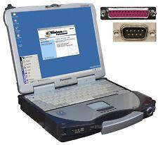 Notebook Panasonic Cf-28 For Windows 2000 Rs-232 Serial Parallel Lpt 10/100 Lan
