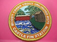 PA Fish Commission Patch Muddy Creek Trout Unlimited 2006 Castle Fin Station