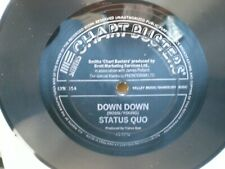 Status Quo - FLEXI DISC ::SMITHS CHARTBUSTERS Down Down/Break The Rules