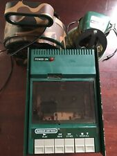 Vintage Burnham Brothers Electric/ Battery Powered Cassette Player Game Caller
