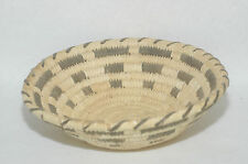 Vintage Papago Woven Bear Grass,Devil CLaw & Yucca Basket 8""