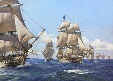 Geoff Hunt Limited Edition Print - West Indies Squadron