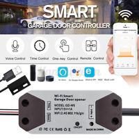 Smart WiFi Switch Garage Door Remote Opener Controller for Alexa Google Amazon
