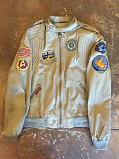 Vintage Sasson Jacket Star Trek Patches