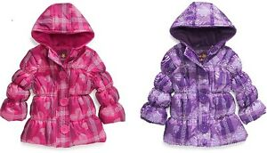 Toddler Girls Pink Platinum Puffer Coat ~ Pick Your Size & Color ~ New With Tags