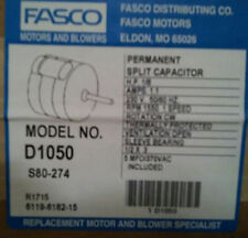 Fasco D1050 5.0-Inch Dia. Condenser Fan Motor, 1/8 HP, 230V, 1550 RPM, 1 Speed