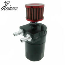 Universal Aluminum Engine Oil Catch Can Tank Reservoir Breather with Filter Kit