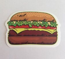 Pegatina/sticker/autocollant/ Adesivo/ Aufkleber: Hamburger/ Hamburguesa/ Burger