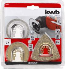 KWB Multi Tool Blade Tile Repair Kit 3PC