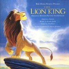 Lion King-Original Motion Picture Soundtrack (1994, Disney) Elton John, J.. [CD]