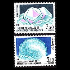 TAAF 1989 - Crystals Minerals Nature - Sc 146/7 MNH