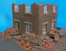 1/35 Rue35 Brick Apartment Ruin Diorama Accessory