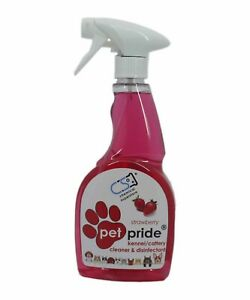 Pet Pride Ready to Spray Cleaner Paw Friendly 500ml Strawberry