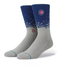 STANCE MLB Chicago Cubs Fade Crew Socks Mens Size M Medium (6-8.5) NEW!!