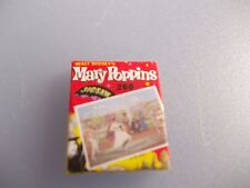 EMPTY NON OPENING JIGSAW BOX OF MARY POPPINS FOR A DOLLS HOUSE