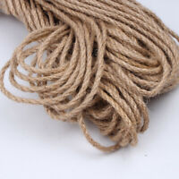 5m Hemp Rope Jute Ribbon Gift Box Wrapping Cord Wire DIY Handcraft Accessories