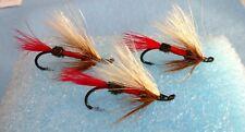 Steelhead Salmon Steelhead Royal Coachman #4 Flies Us Alaska Canada (X3)