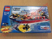 Lego Ciudad 7906 barco de fuego de 2007 | nuevo, sin abrir, sellado de fábrica