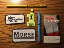 Morse Hardware Co. Bellingham Wa Pencil Pen Patch Key Chain Booklet Ephemera Lot