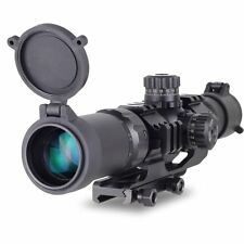 Tactical 1.5-4X30 Tri-illuminated Mil-dot Sight Rifle Scope Recon Monocular sale