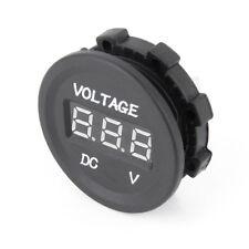 12V-24V Car Motorcycle LED DC Digital Display Voltmeter Waterproof Meter